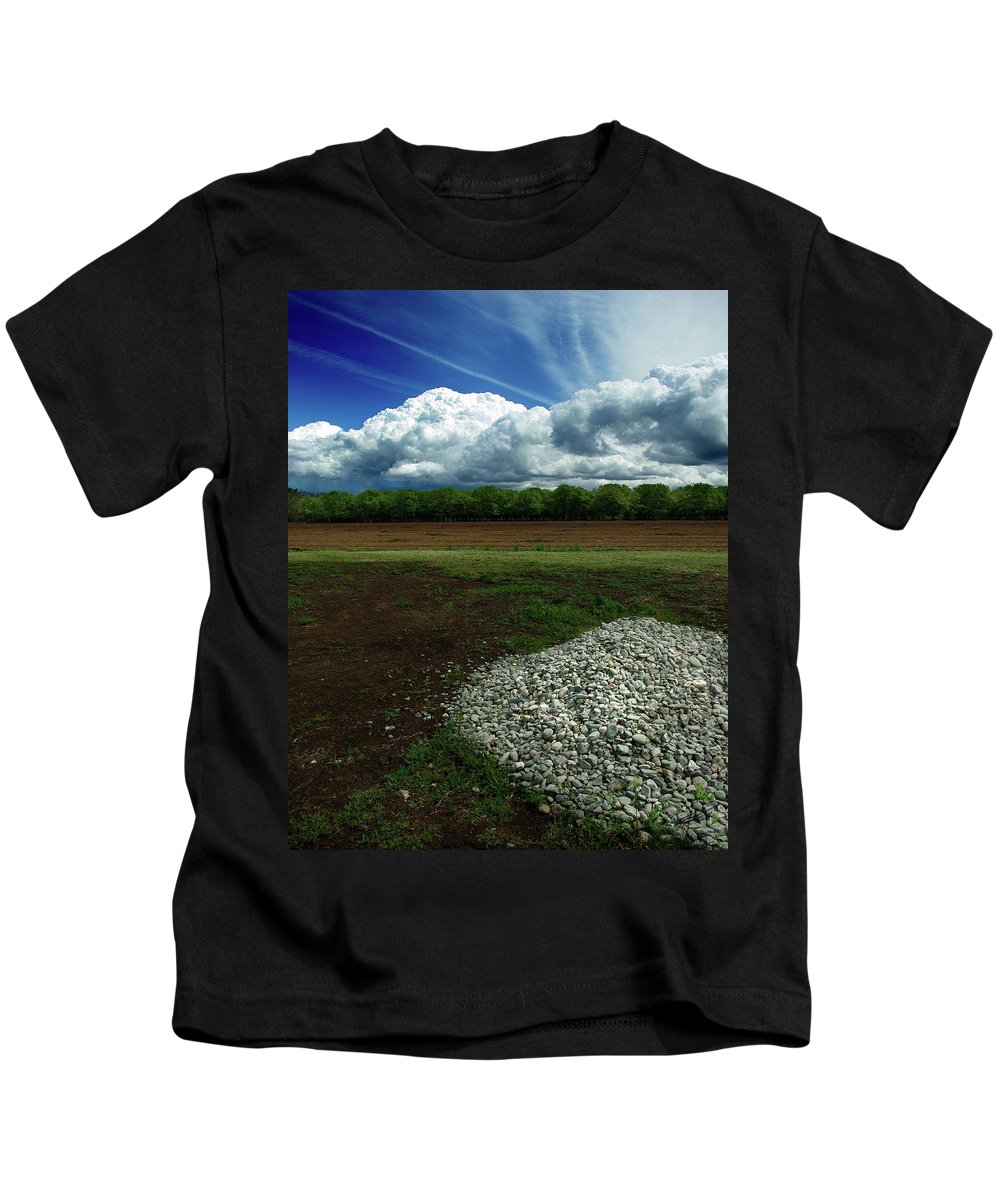 Just A Stone Throw Away Kids T-Shirt featuring the photograph Just A Stone Throw Away by Peter Piatt