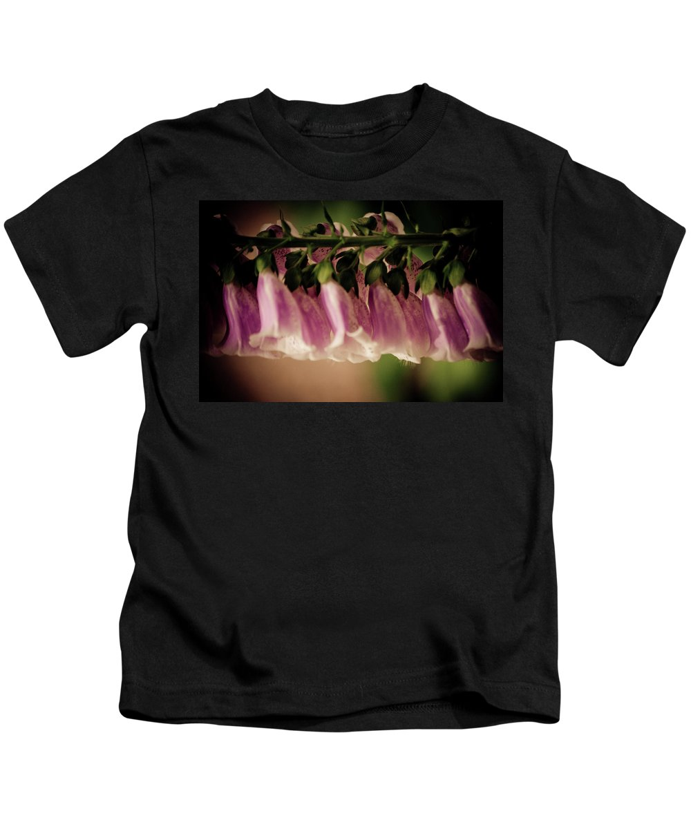 Kids T-Shirt featuring the photograph Just Hangin Around by Trish Tritz