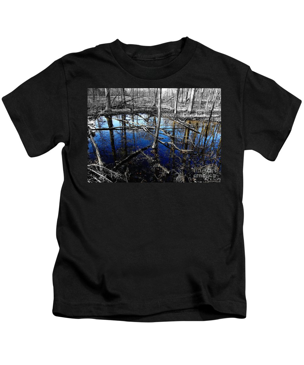 Landscape Kids T-Shirt featuring the photograph Kensington 6 by September Stone