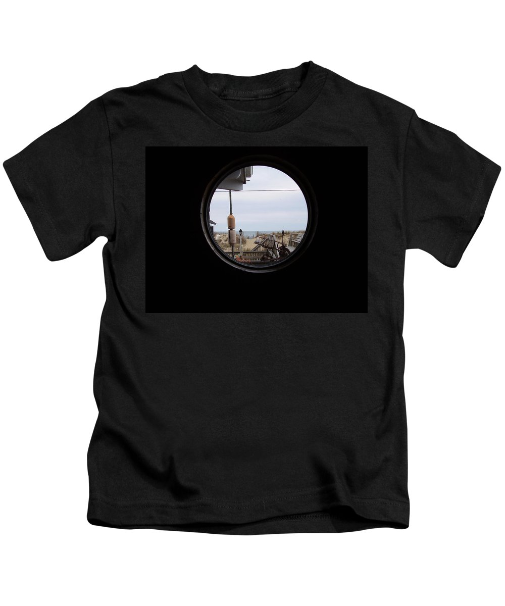Kitty Hawk Kids T-Shirt featuring the photograph Kitty Hawk by Flavia Westerwelle