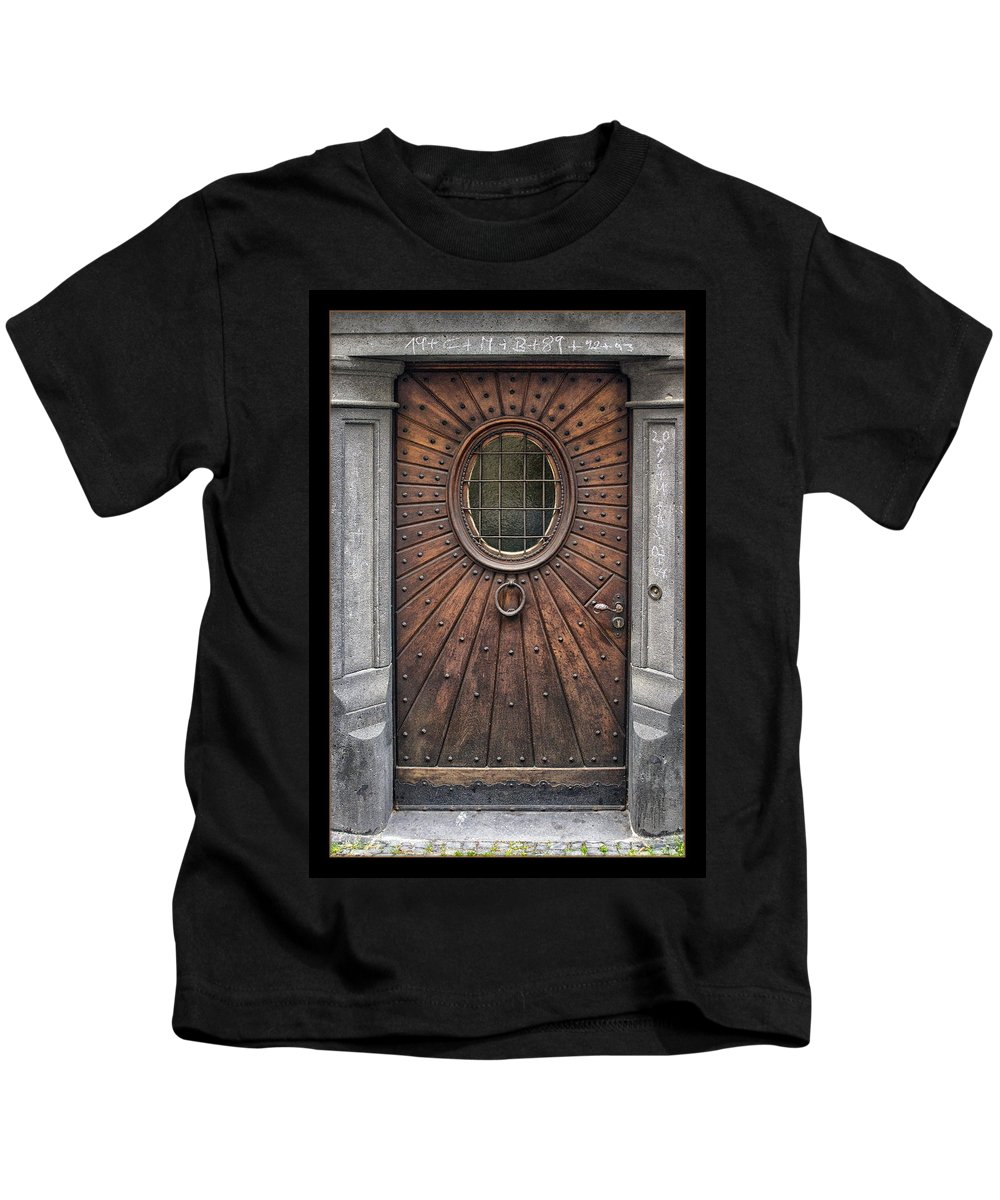 Germany Kids T-Shirt featuring the photograph Knock Knock by Robert Fawcett