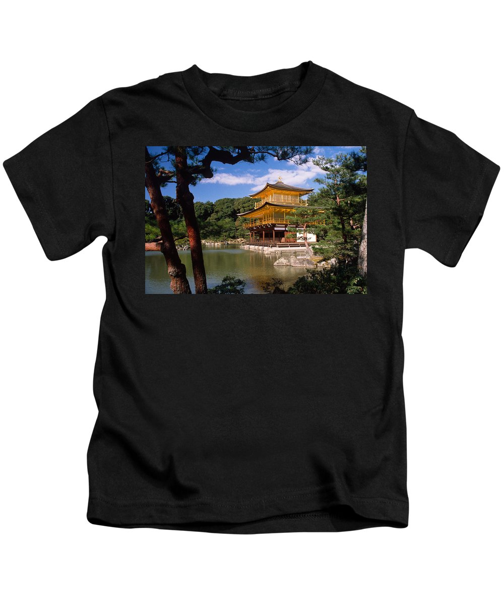 Asia Kids T-Shirt featuring the photograph Kyoto by Michele Burgess