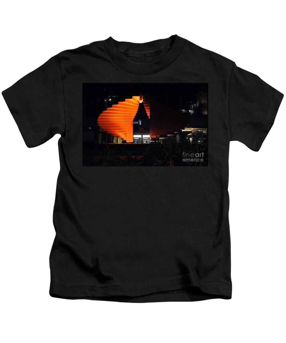 Clay Kids T-Shirt featuring the photograph L.a. Nights by Clayton Bruster