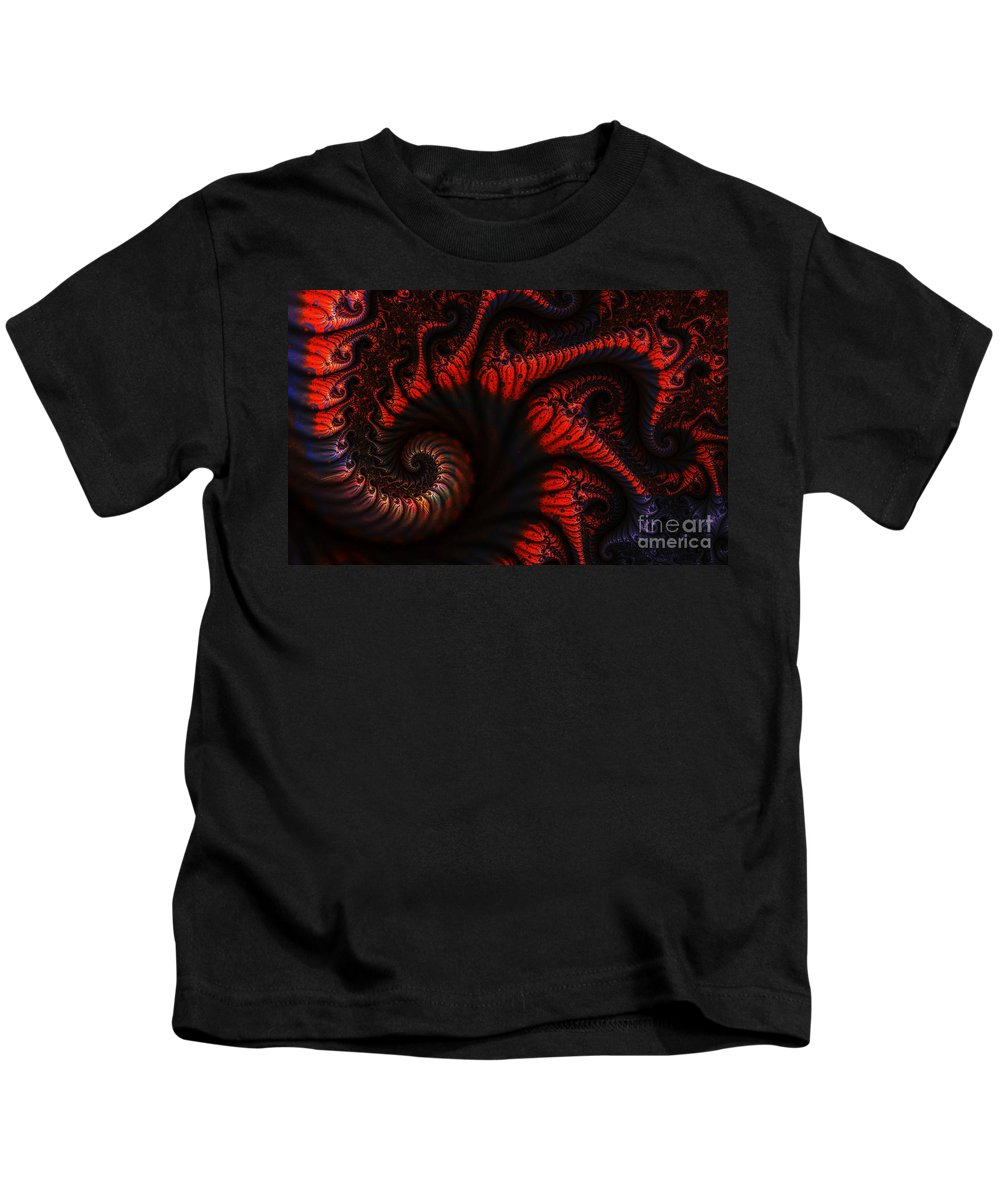Clay Kids T-Shirt featuring the digital art Labyrinth by Clayton Bruster