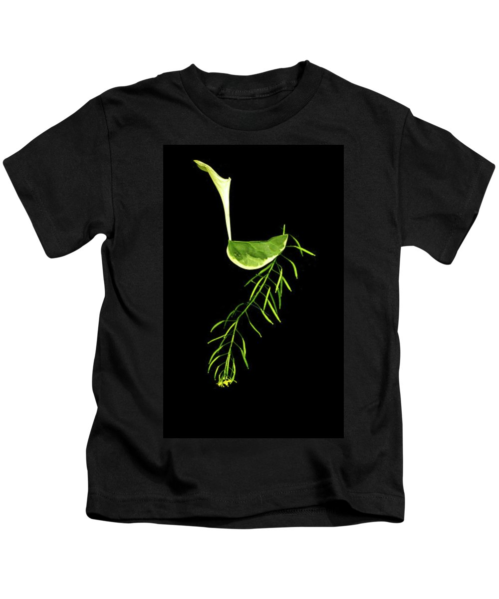 Hebrew Kids T-Shirt featuring the digital art Lamed - Second Hebrew Letter In Shalom by Sterling Haidt