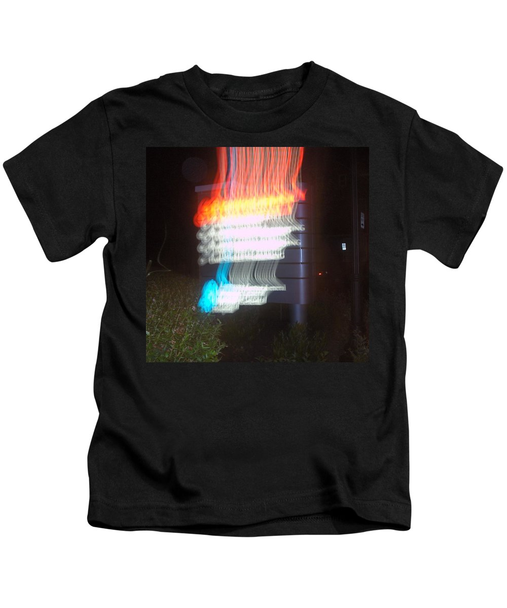 Photograph Kids T-Shirt featuring the photograph Lancaster General Emergency Room by Thomas Valentine