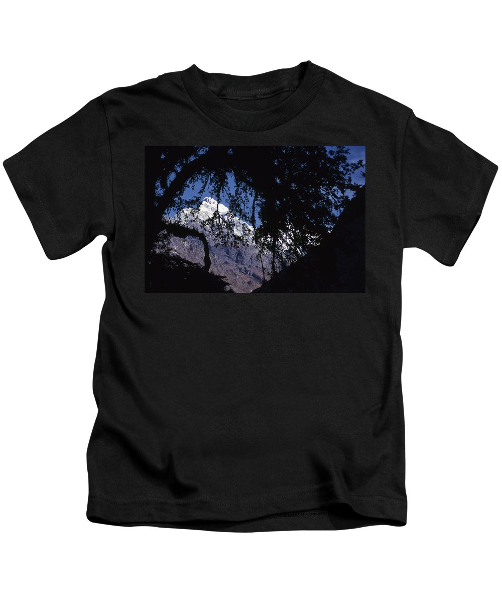 Langtang Kids T-Shirt featuring the photograph Langtang by Patrick Klauss
