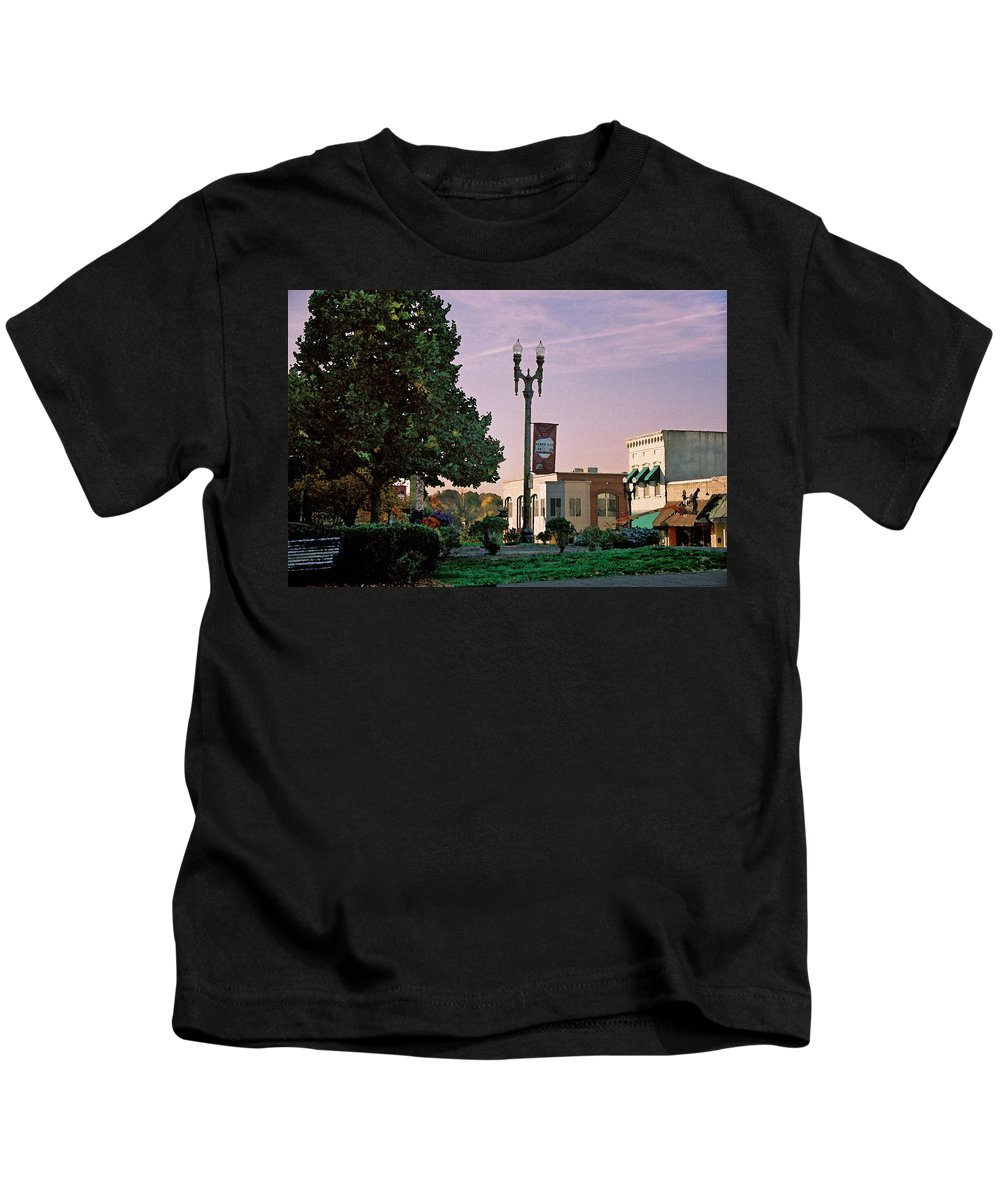 Landscape Kids T-Shirt featuring the photograph Late Sunday Afternoon by Steve Karol