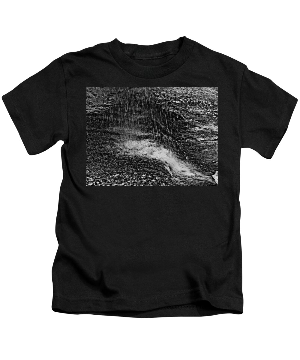 Falls Kids T-Shirt featuring the photograph Lava Falls by Michael Bessler