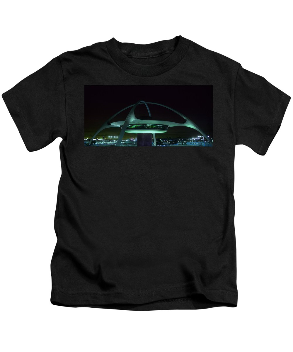 Lax Encounter Restaurant Kids T-Shirt featuring the photograph Lax Encounter Restaurant by Steve Williams