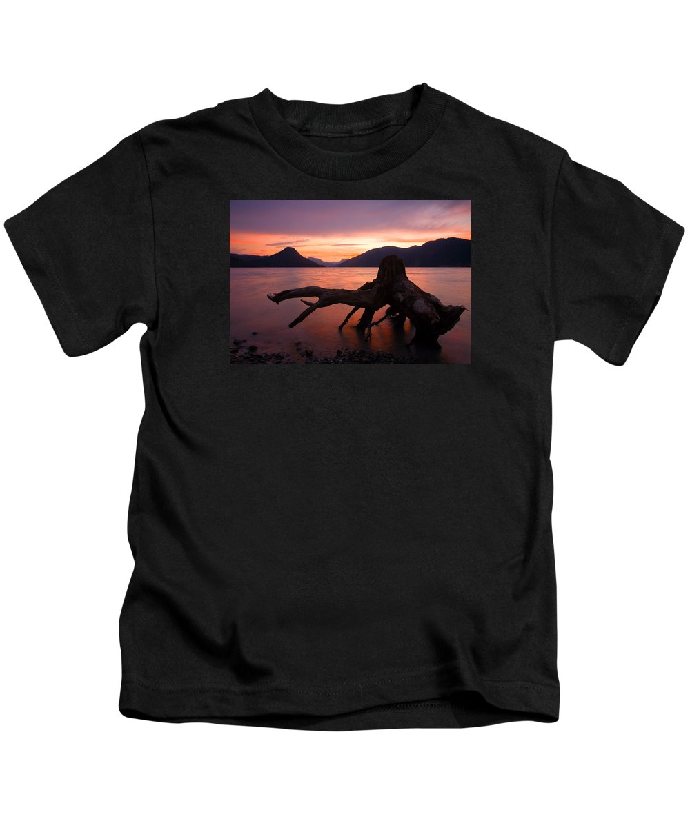 Stump Kids T-Shirt featuring the photograph Left Behind by Mike Dawson