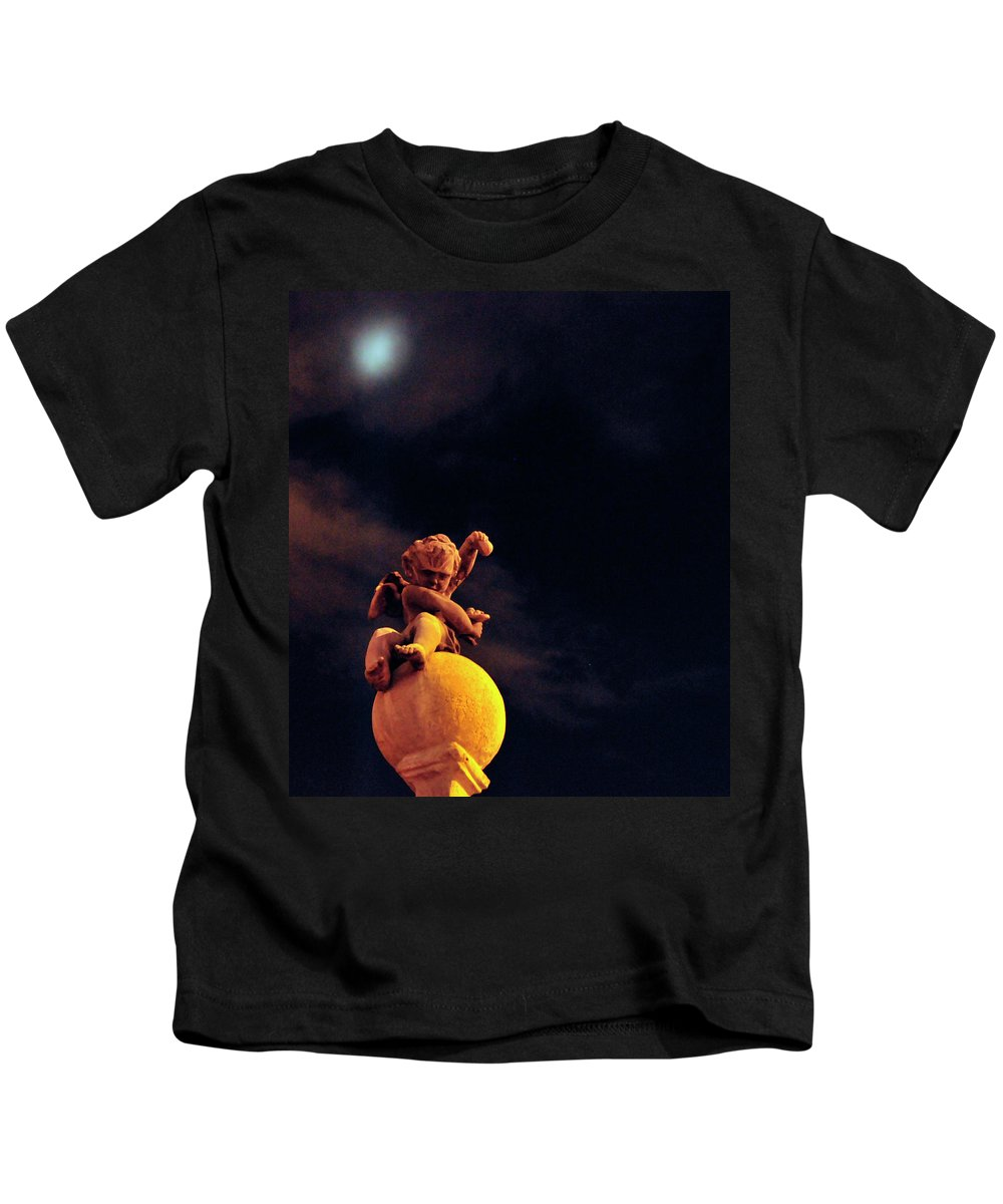 Angel Kids T-Shirt featuring the photograph Lesser Angel by David Arment