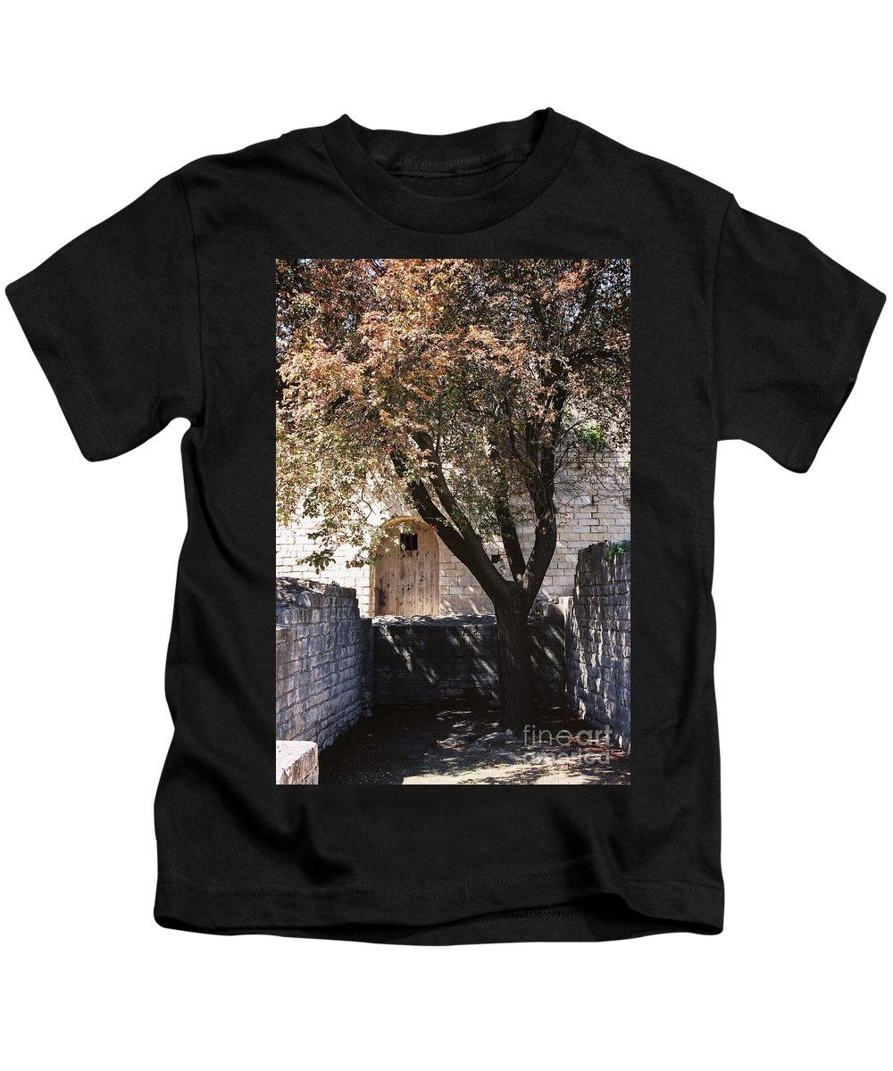 Life Kids T-Shirt featuring the photograph Life And Death by Nadine Rippelmeyer