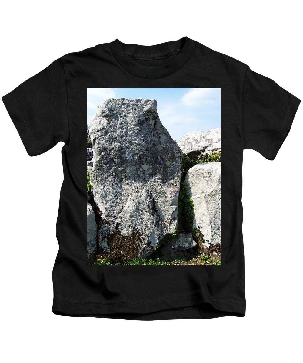 Irish Kids T-Shirt featuring the photograph Life At Creevykeel Court Cairn Sligo Ireland by Teresa Mucha