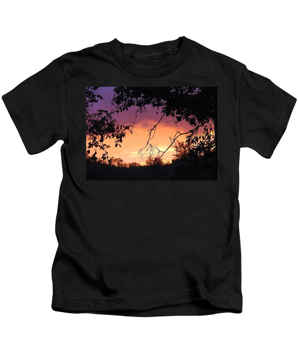 Storm Kids T-Shirt featuring the photograph Light At The End Of The Storm by J R Seymour