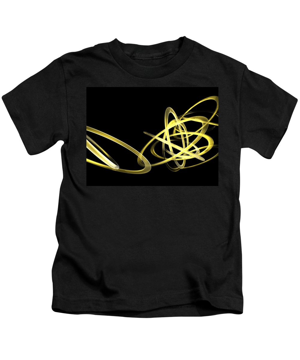 Yellow Kids T-Shirt featuring the photograph Light Yellow by Scott Piers