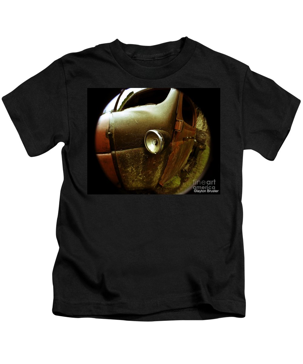 Art Kids T-Shirt featuring the photograph Lightly Rusted by Clayton Bruster