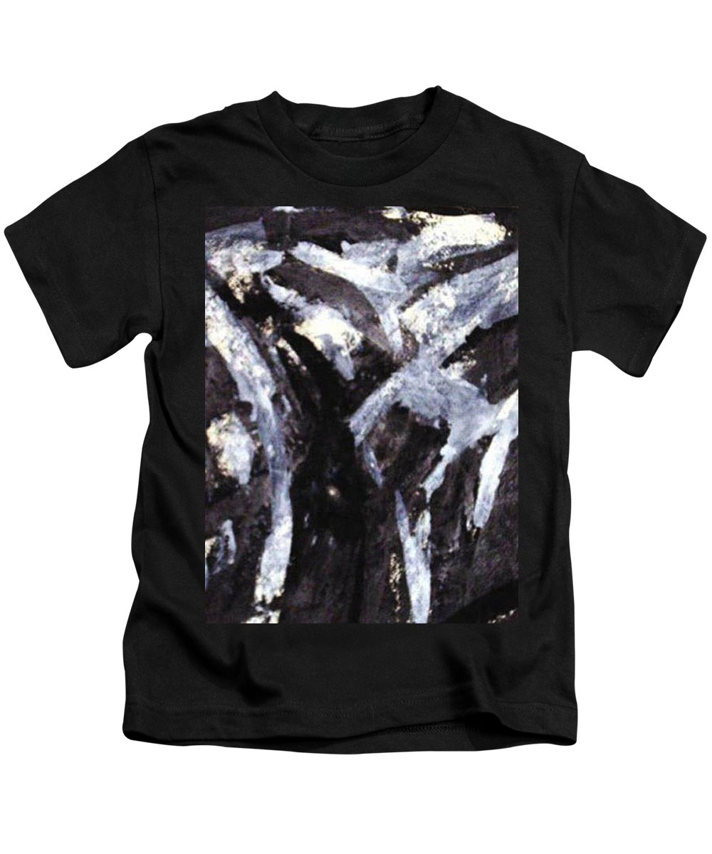 Landscape Kids T-Shirt featuring the painting Lipovo by Vladimir Vlahovic