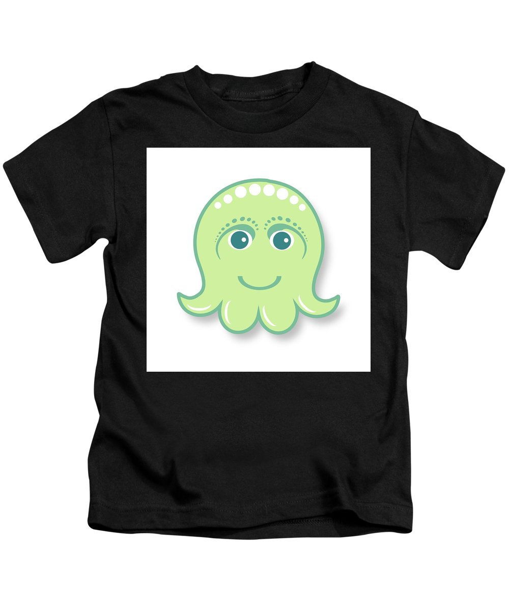 Vector Digital Art Kids T-Shirts
