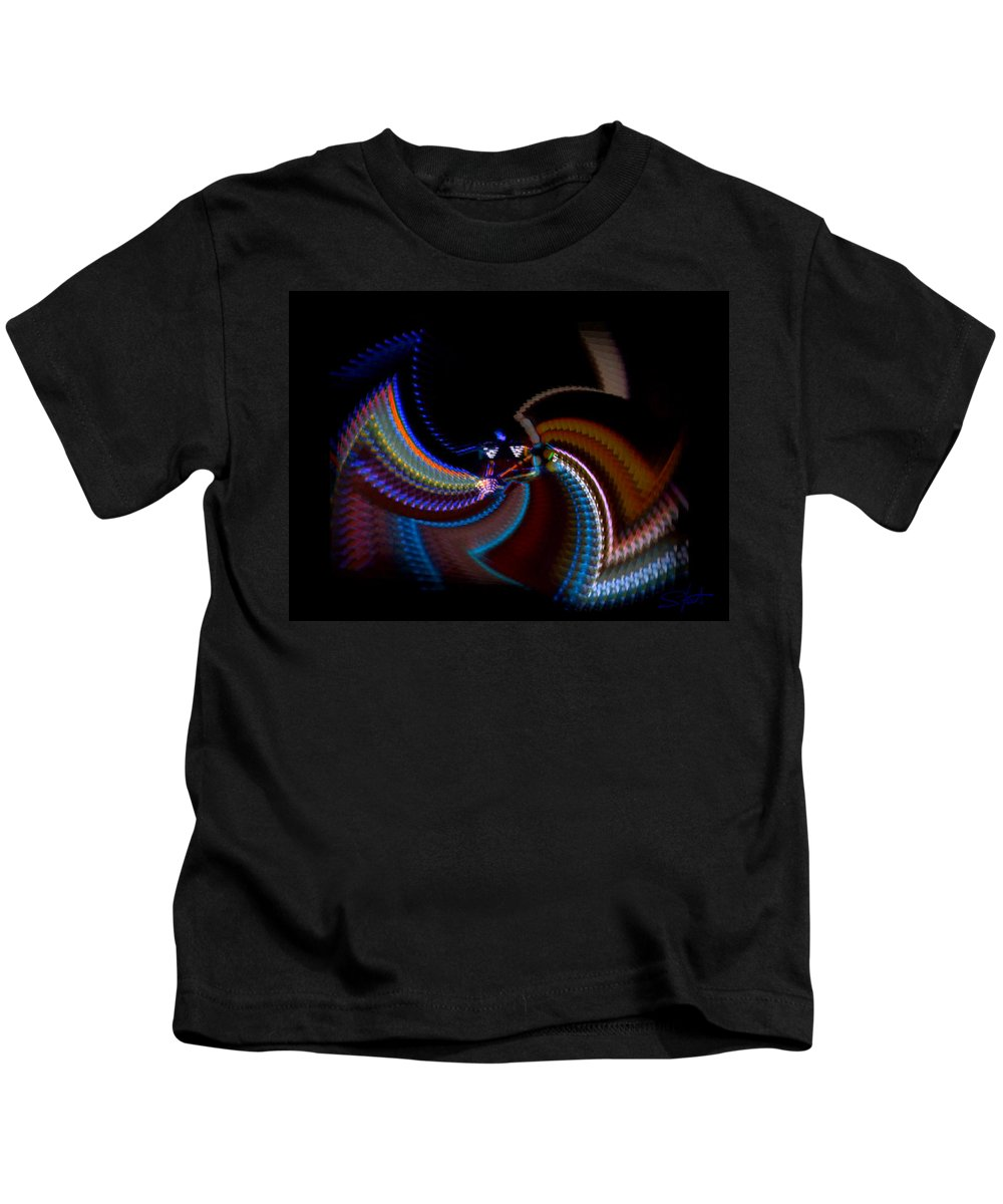 Chaos Kids T-Shirt featuring the photograph Little Wing by Charles Stuart