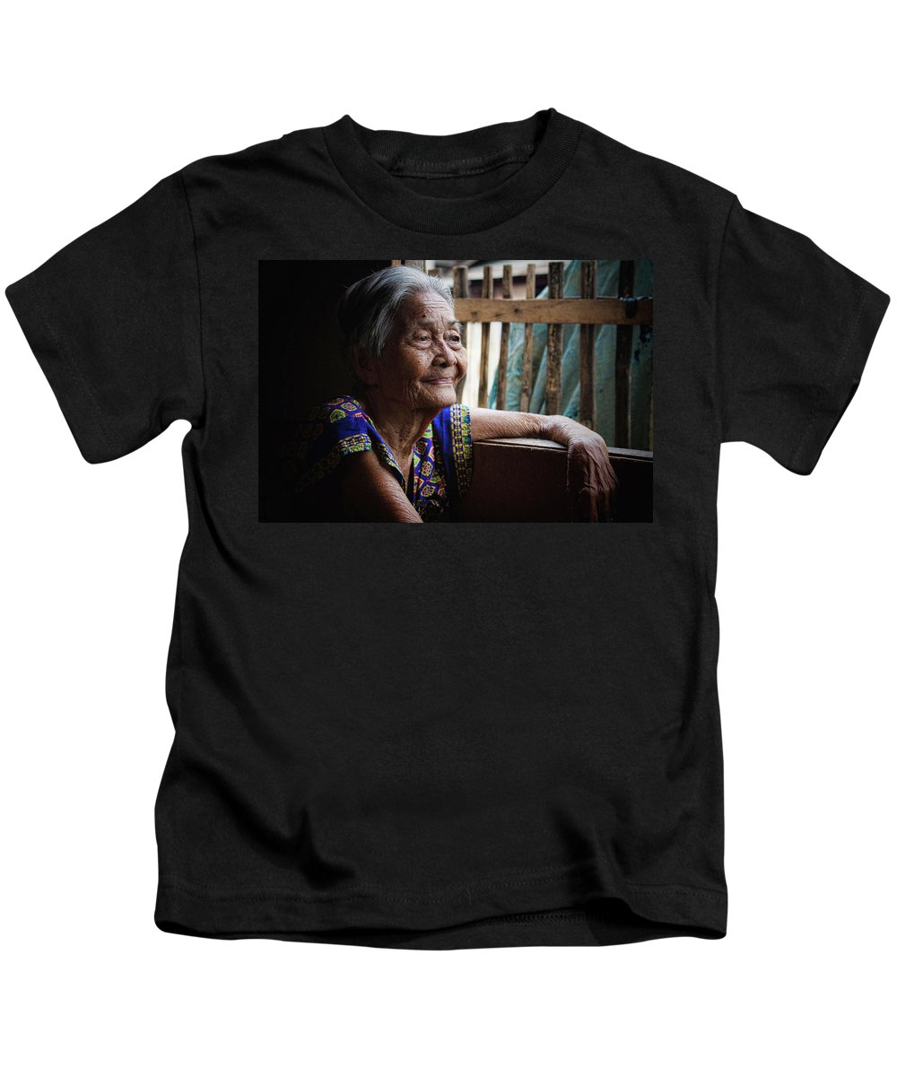 Philippines Kids T-Shirt featuring the photograph Lola by James BO Insogna
