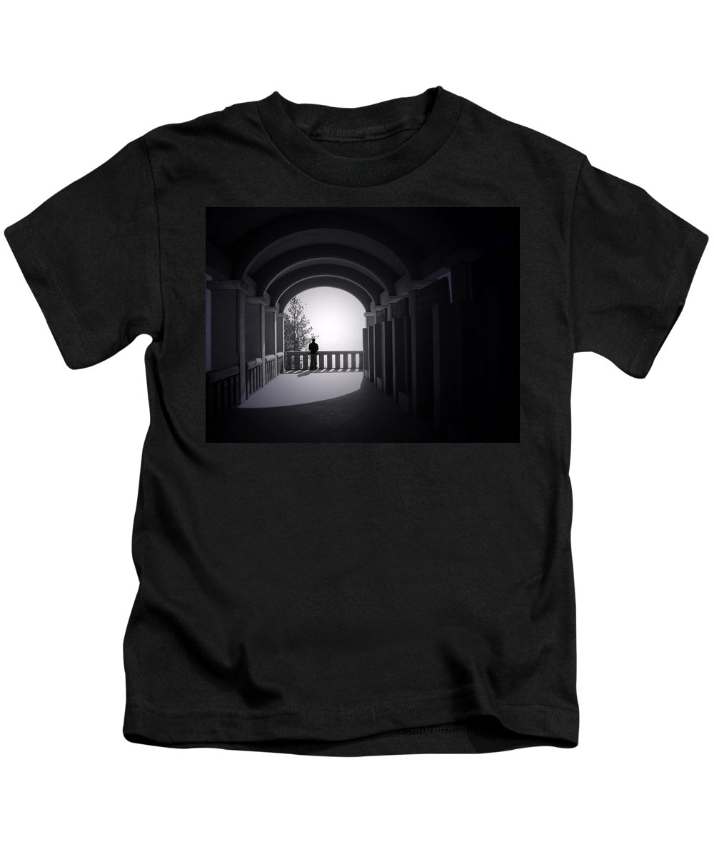 Building Kids T-Shirt featuring the photograph Longing by Tara Turner