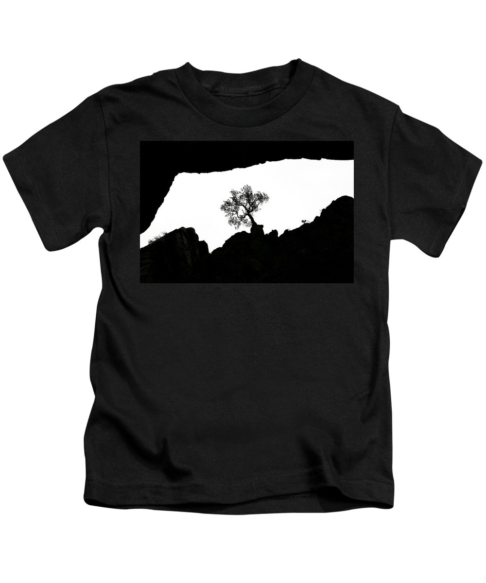 Tree Kids T-Shirt featuring the photograph Looking Up 2 by Marilyn Hunt
