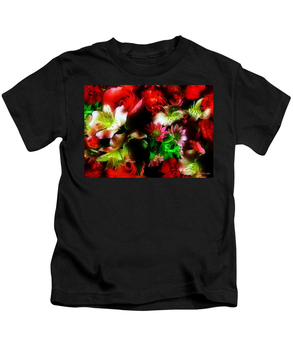 African Daisies Kids T-Shirt featuring the photograph Loud And Proud by RC DeWinter