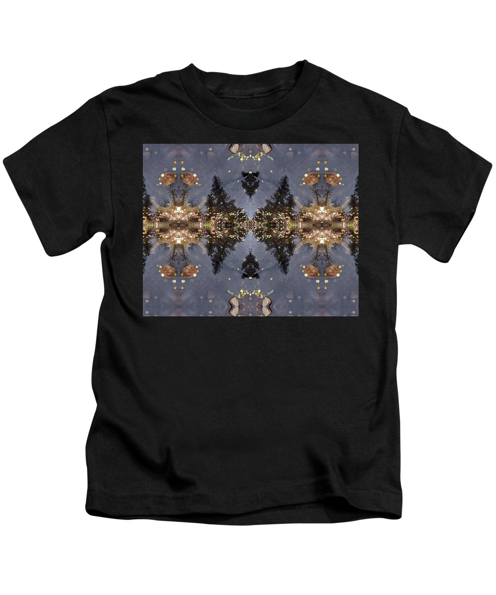 Surrealistic Kids T-Shirt featuring the digital art Love And Light by Julia L Wright
