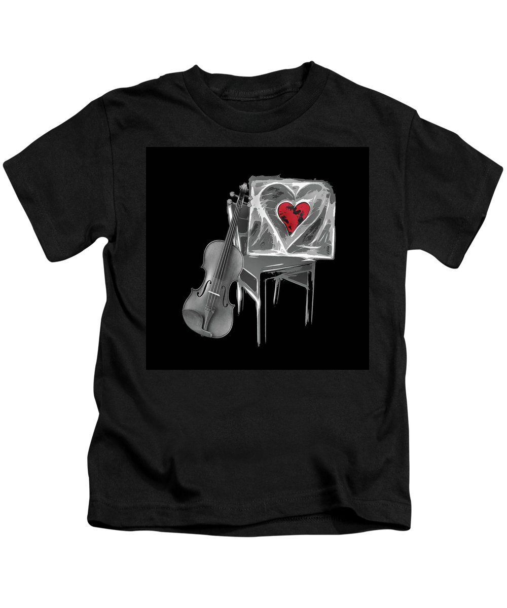 Love Kids T-Shirt featuring the photograph Love Melody by Manfred Lutzius