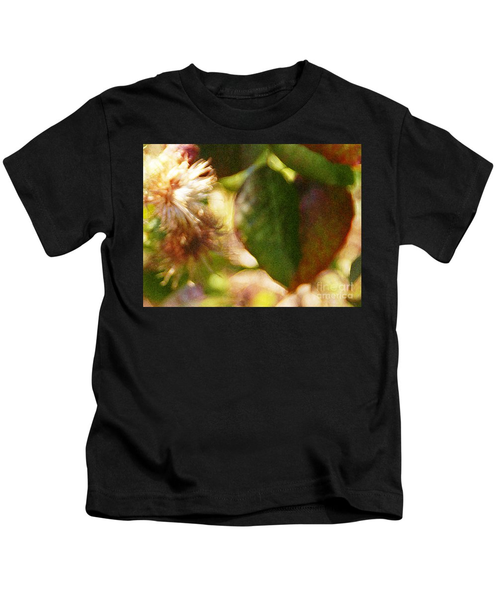 Wildflower Kids T-Shirt featuring the photograph Love Notes by Linda Shafer