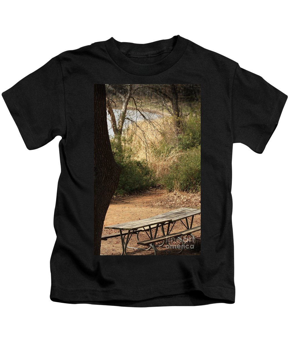 Nature Kids T-Shirt featuring the photograph Lovely Day For A Picnic by Kim Henderson