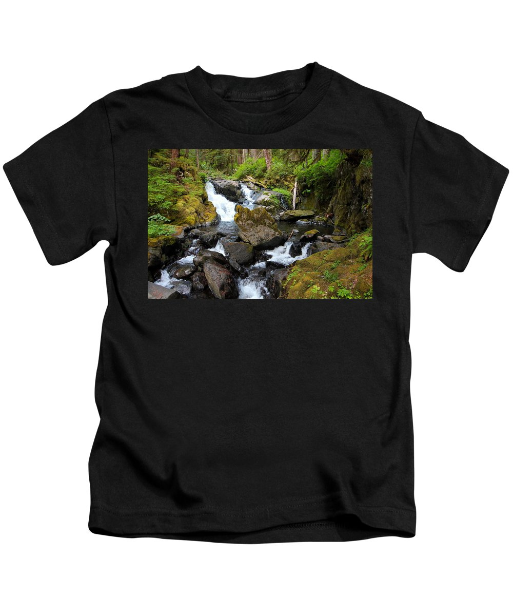 Adventure Kids T-Shirt featuring the photograph Lover's Lane Loop Three by Nicholas Miller