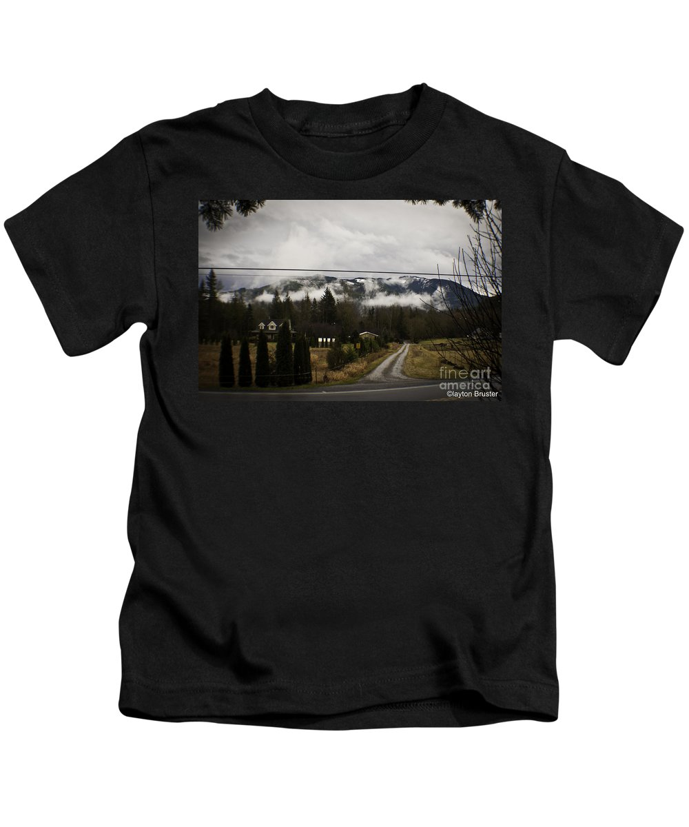 Art Kids T-Shirt featuring the photograph Low Overhead by Clayton Bruster