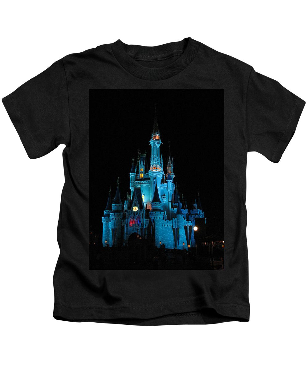 Disney Kids T-Shirt featuring the photograph Magic Kingdom by Stacey May