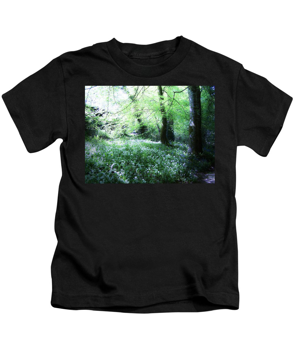 Irish Kids T-Shirt featuring the photograph Magical Forest At Blarney Castle Ireland by Teresa Mucha