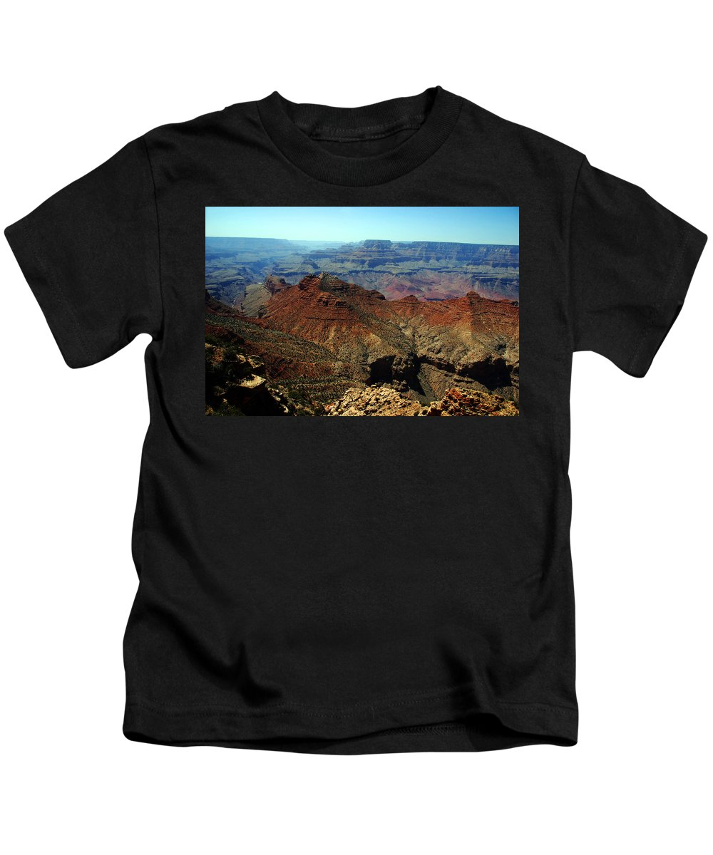 Grand Canyon Kids T-Shirt featuring the photograph Majestic View by Susanne Van Hulst