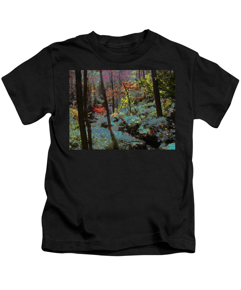 Maxfield Parrish Kids T-Shirt featuring the photograph Maxfield Parrish Moment by Anne Cameron Cutri