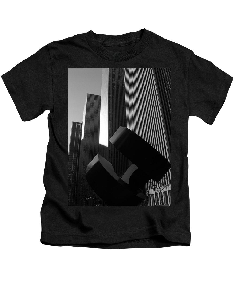 Architecture Kids T-Shirt featuring the photograph Mc Graw Hill Building by John Schneider