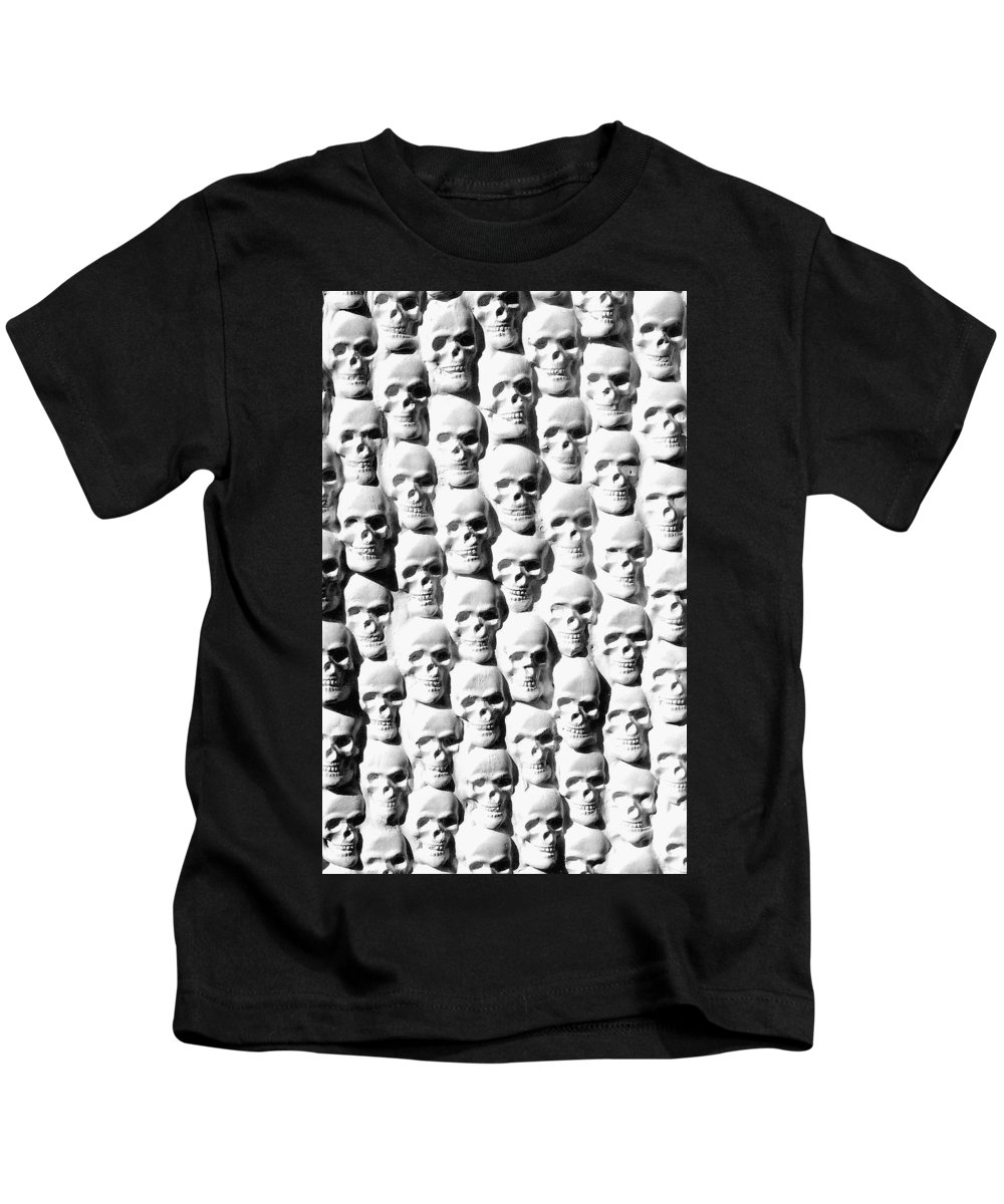 Figurative Kids T-Shirt featuring the sculpture Melancholic Journey 2 by Mark Cawood