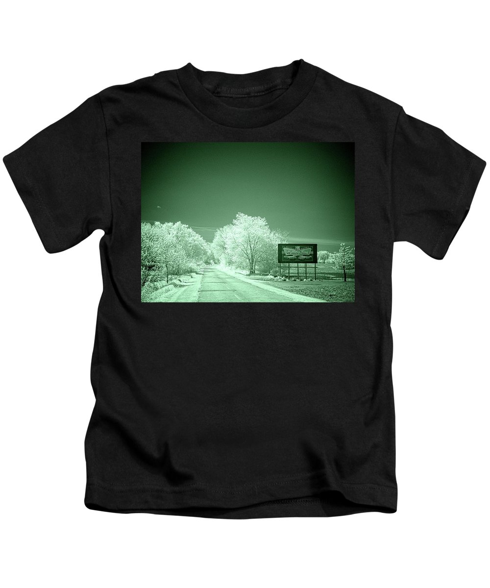 Lexington Kids T-Shirt featuring the photograph Memory Lane Opus 2 by Fred Hahn