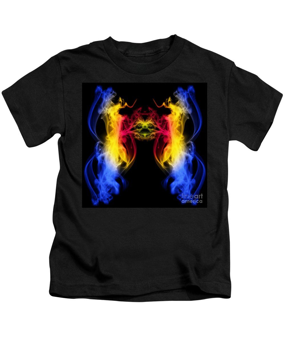Clay Kids T-Shirt featuring the digital art Metamorphis by Clayton Bruster