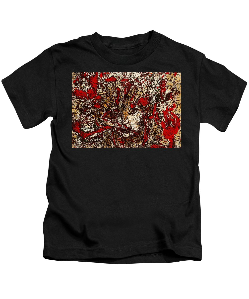 Fantasy Kids T-Shirt featuring the painting Metamorphosis by Natalie Holland