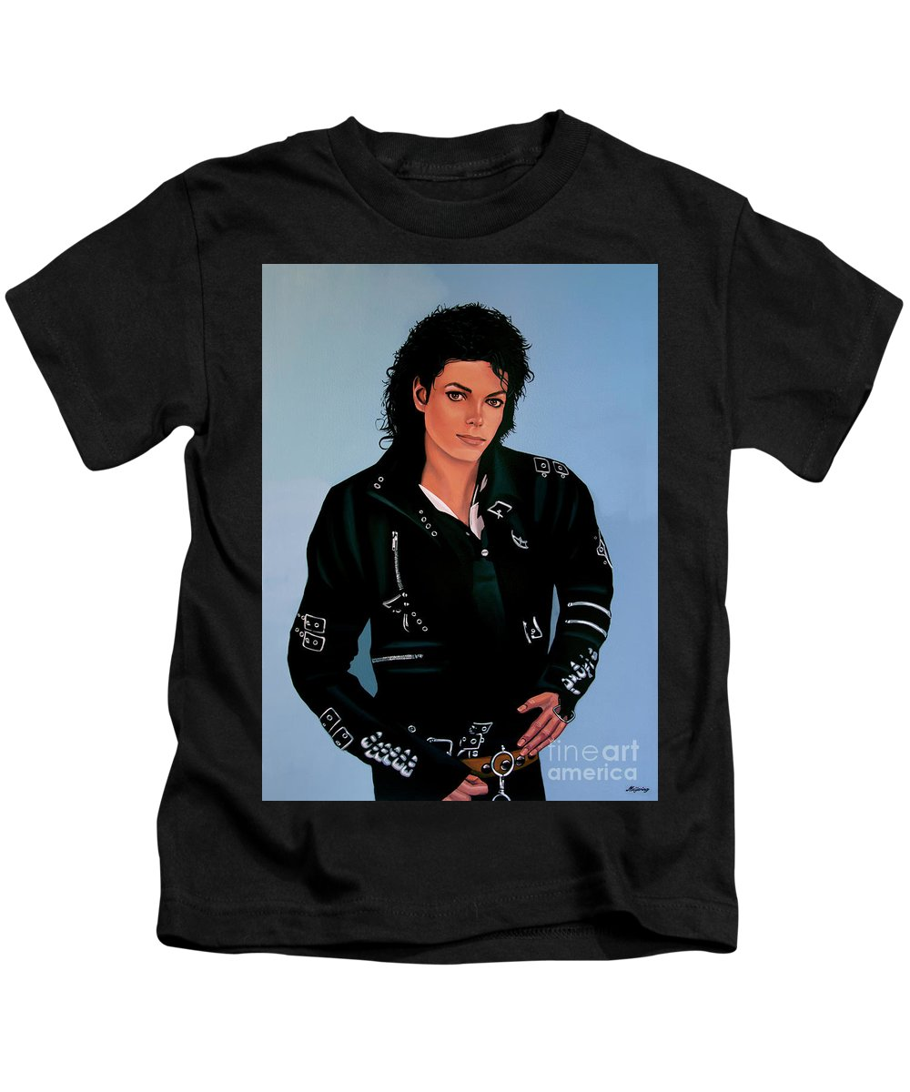 a74a468a Michael Jackson Bad Kids T-Shirt for Sale by Paul Meijering