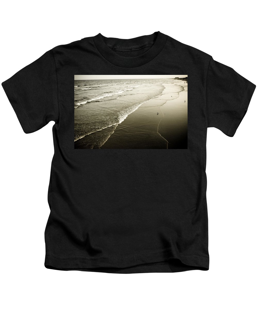 Ocean Kids T-Shirt featuring the photograph Mid-summer Morning by Marilyn Hunt