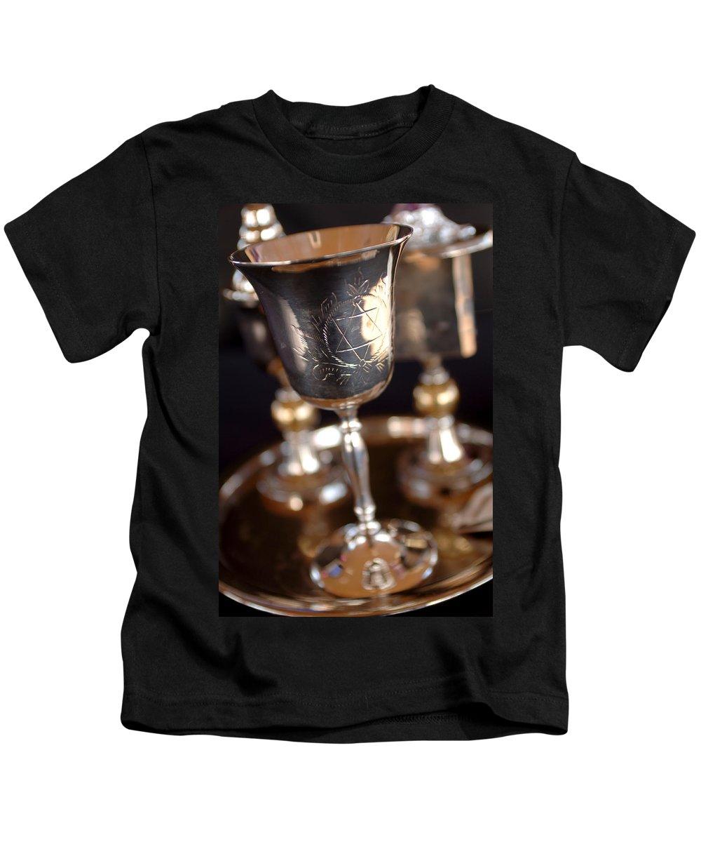 Mitzvah Kids T-Shirt featuring the photograph Mitzvah Cup by Jill Reger