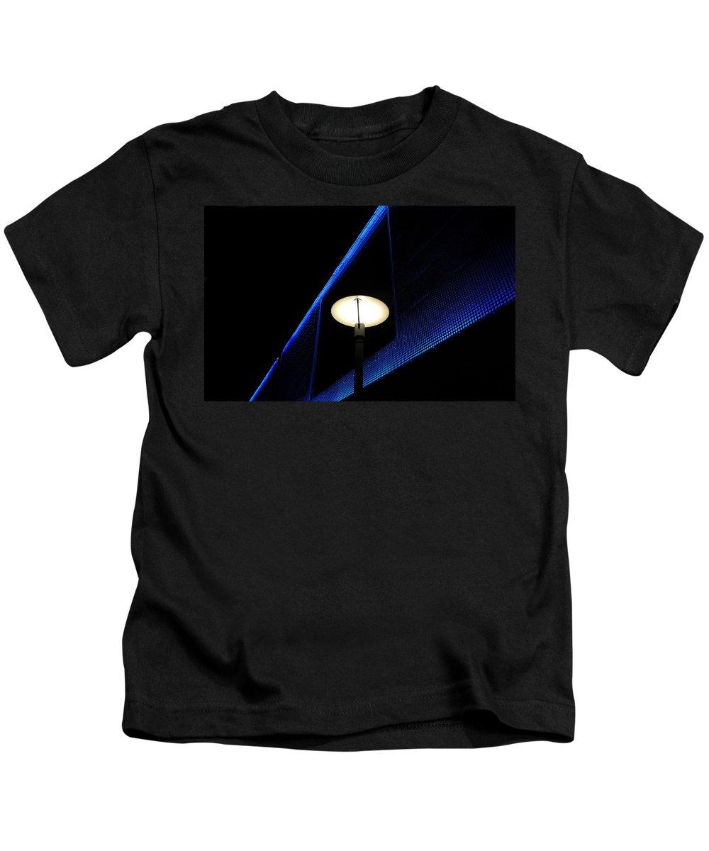 Fine Art Photography Kids T-Shirt featuring the photograph Modern Light by David Lee Thompson