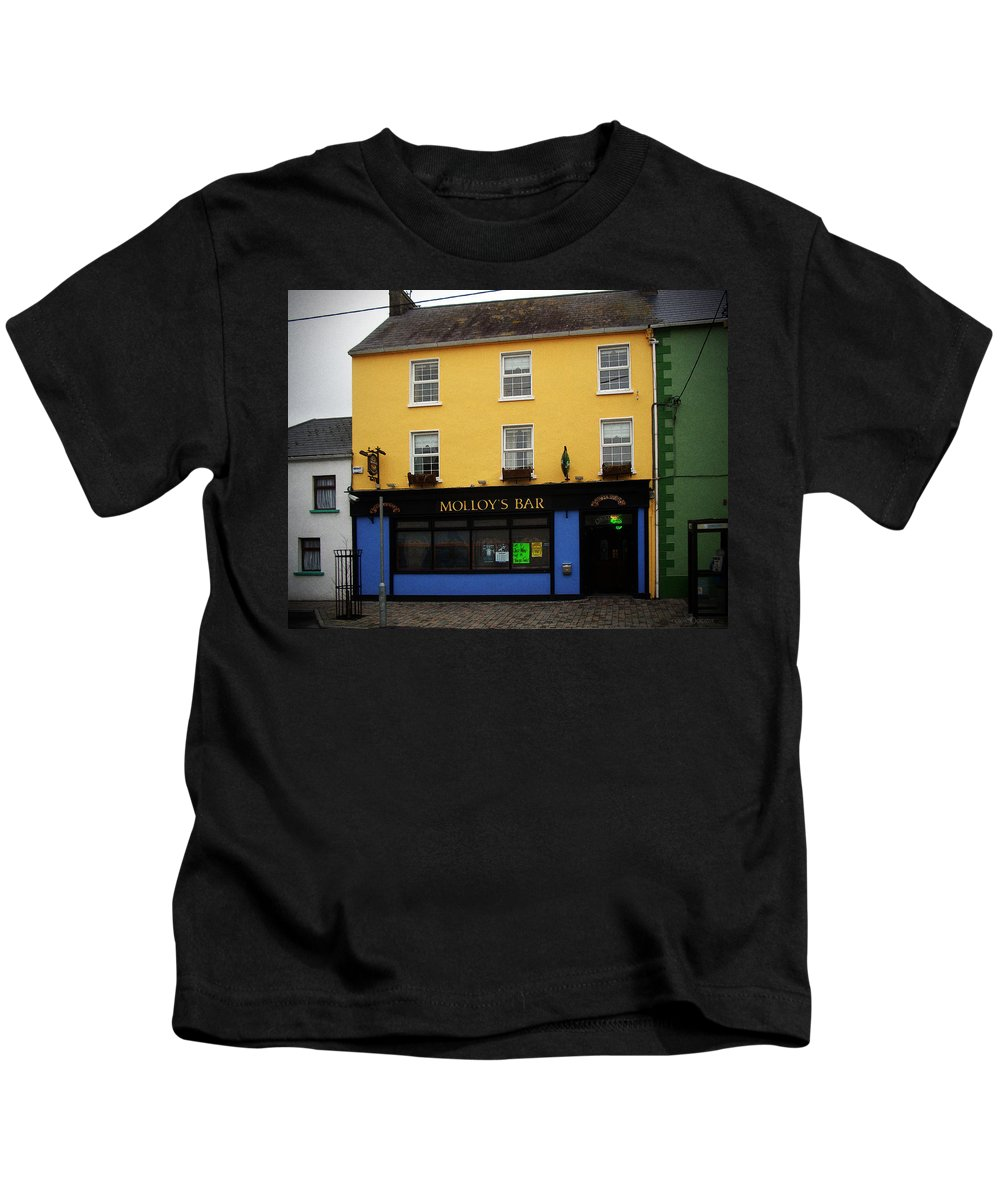 Pub Kids T-Shirt featuring the photograph Molloy by Tim Nyberg