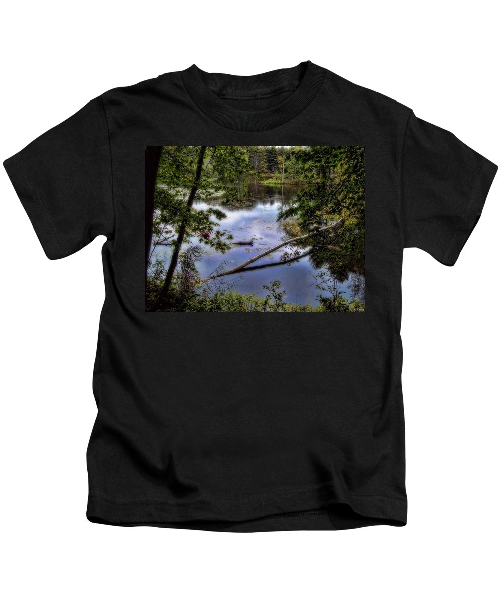 Lauren Radke Kids T-Shirt featuring the photograph Moment In Time by Lauren Radke