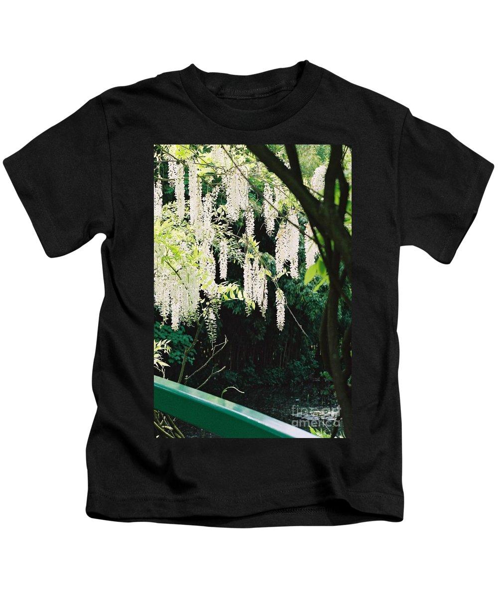 Monet Kids T-Shirt featuring the photograph Monet's Garden Delights by Nadine Rippelmeyer